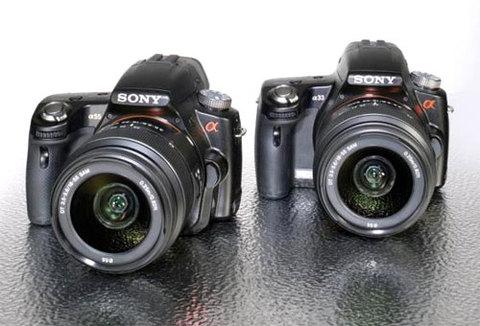 Sony Alpha 33 và 55