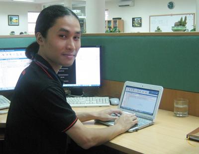 Kỹ sư Bùi Quang Minh. Ảnh: Bkav.