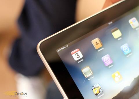 iPad 3G do FPT bán có giá từ 20,5 triệu. Ảnh: Quốc Huy.