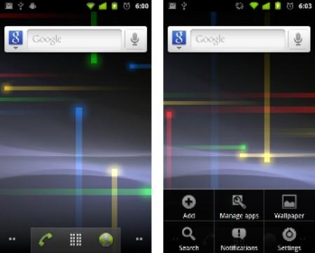 Nexus S là điện thoại đầu tiên sử dụng Android 2.3.