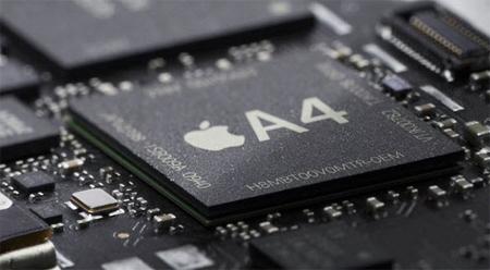 Bộ vi xử lý A4 có trong iPhone 4.