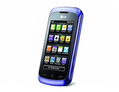 Cookie 3G đại diện cho di động cảm ứng phổ thông.