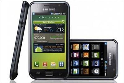 Samsung Galaxy S sử dụng màn hình Super Amoled.