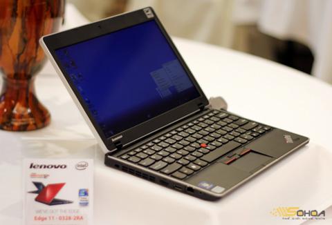 Những laptop mỏng nhẹ, kích thước nhỏ giá hấp dẫn như Edge 11 là một sự lựa chọn hợp lý hơn netbook cho nhiều người dùng. Ảnh: Quốc Huy.