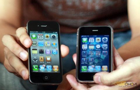 Các thế hệ iPhone đã chinh phục người dùng Việt Nam. Ảnh: Quốc Huy.