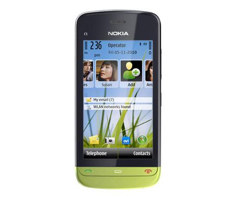 Nokia C5-03 nhiều màu sắc.