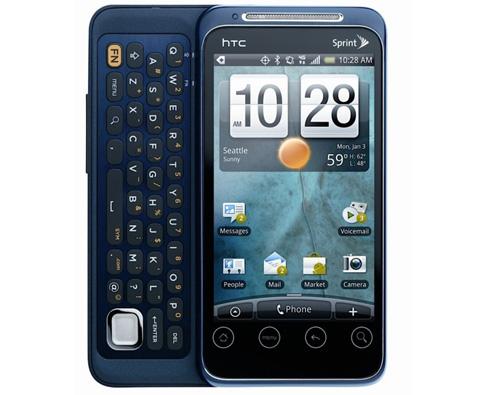 EVO Shift 4G với màn hình rộng 3,6 inch.