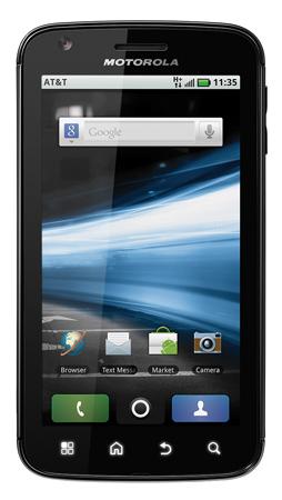 Atrix 4G với màn hình rộng.