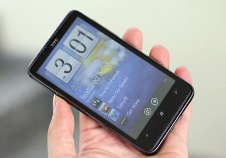 HTC HD7 có thể mua qua đấu giá từ mức 1.000 đồng trở lên. Ảnh: Quốc Huy.
