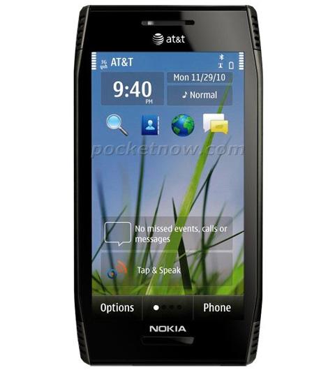 Hình ảnh chiếc X7 dự kiến bán trên mạng AT&T. Ảnh: Pocketnow.