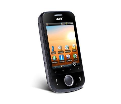 Acer beTouch E110 có giá gần 4 triệu.