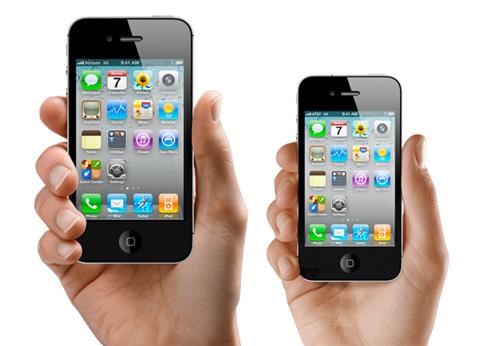 iPhone 5 có thể mở rộng màn hình lên 4 inch.