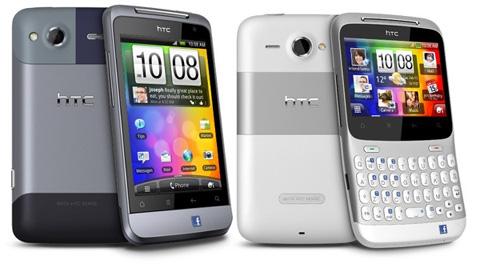 Hai Facebook phone của HTC.