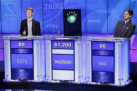 Lần đầu tiên, máy tính vượt con người trong cuộc thi đố vui.