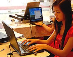 Việc liên lạc ra nước ngoài của người sử dụng Internet bị ảnh hưởng.