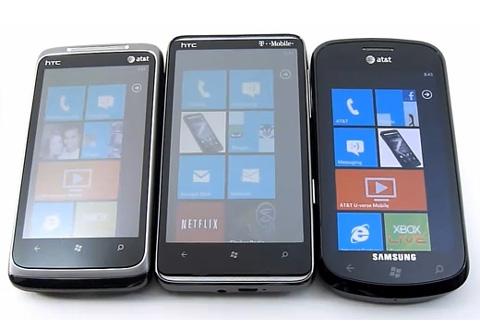 Windows Phone 7 hiện chưa nhiều tính năng. Ảnh: Htcphone.