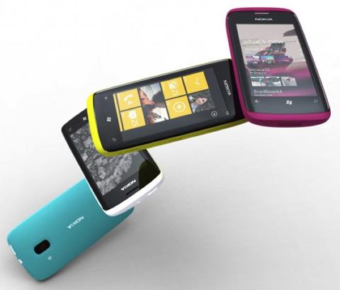 Điện thoại Windows Phone của Nokia sang 2012 mới bán.