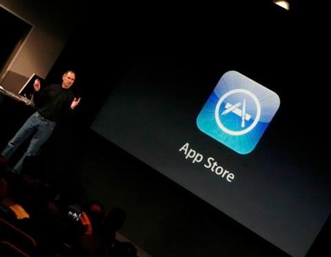 App Store là tên gian ứng dụng dành cho iOS và máy tính Mac của Apple. Ảnh: The Next Web.