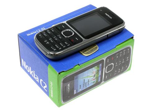 Nokia C2-01 là di động 3G giá rẻ. Ảnh: Gsm Arena.