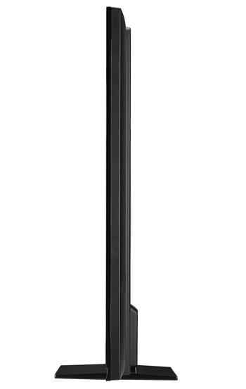 Model này sử dụng hệ thống đèn nền Full LED, cho kích thước màn hình mỏng hơn LCD CCFL truyền thống.