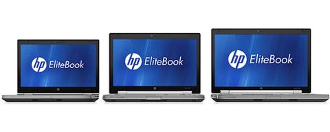 Bộ ba mẫu EliteBook mới.