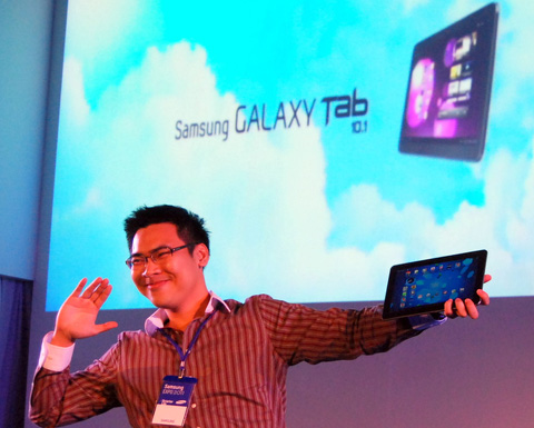 Tab 10.1 là một trong những dòng sản phẩm ấn tượng năm nay của hãng.