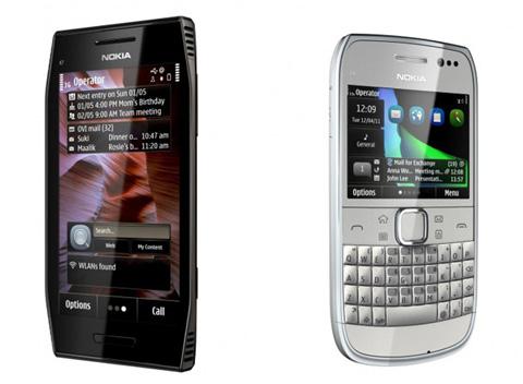Bộ đôi Symbian Anna mới của Nokia.
