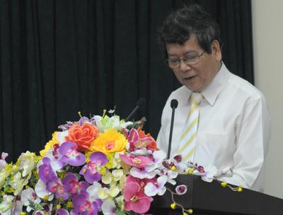 Ông Vũ Ngọc Hoàng, Phó trưởng ban thường trực Ban Tuyên giáo TƯ, tổng kết Hội thảo.