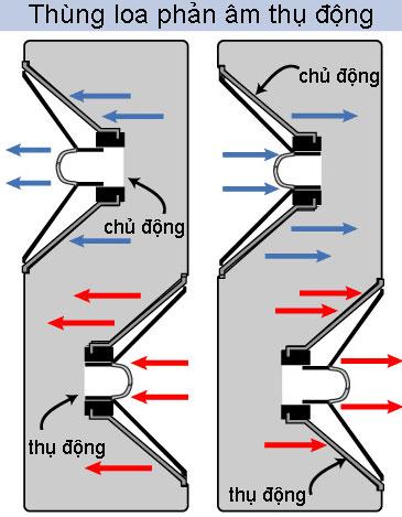 Các loại loa tĩnh điện được thiết kế theo kiểu màng loa được áp lần lượt điện âm và dương dựa trên sự biến đổi