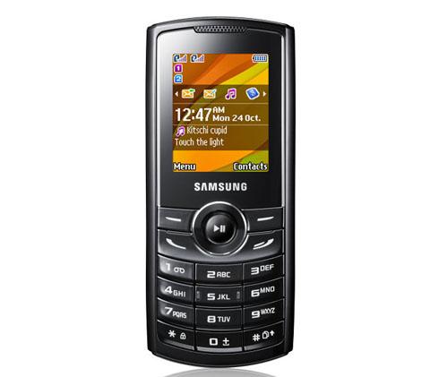 Samsung C3322 có thiết kế dạng thanh.