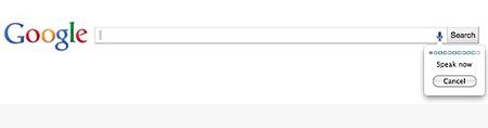 Google Voice Search đang được thử nghiệm giới hạn trên Google.com.