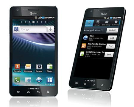 Samsung Infuse 4G. Ảnh: Samsung.