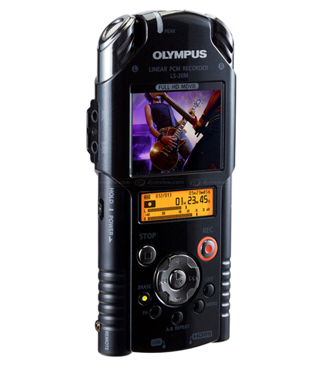 Olympus LS-20M. ?nh: Dpreview.