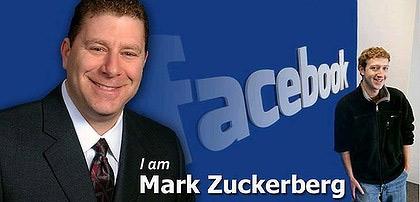 Hai người cùng tên Mark Zuckerberg.