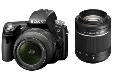Sony Alpha A35. Ảnh: Photorumors.