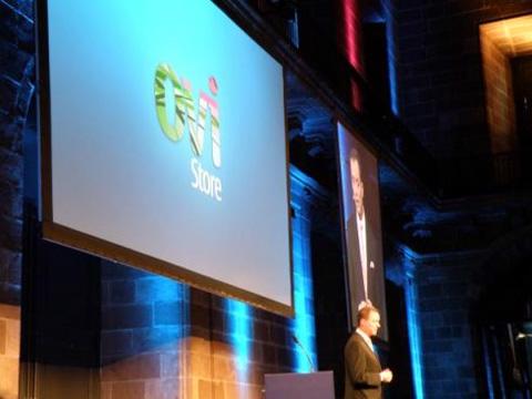 Nokia Ovi là dịch vụ ứng dụng và nội dung của hãng. Ảnh: Cnet.