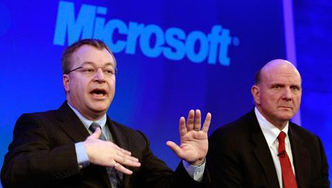 Microsoft và Nokia là các đối tác lớn của nhau. Ảnh: CBC.