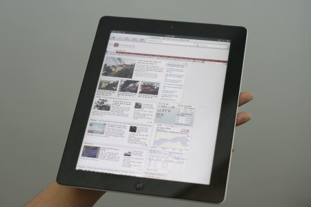 iPad 2 tăng giá sau vụ nổ tại Foxconn. Ảnh: Thế Mạnh