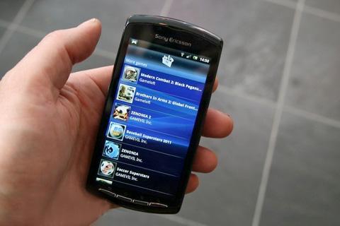 Sony Ericsson đang thêm nhiều game cho Play. Ảnh: Pocket-lint.