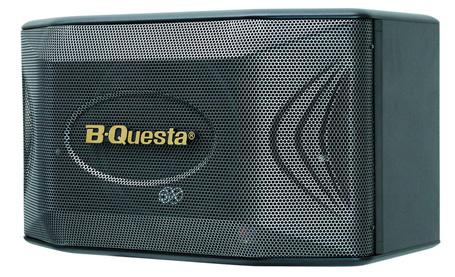 B-QUESTA BQ S63 là thương mới nhất của BIK. Thiết kế đẹp, chất lượng âm thanh sống động với hệ thống 2 đường loa gồm 3 loa với loa Bass 25cm. Công suất: 150W - 8 Ohn. Trọng lượng: 10.5 KGS/ loa.