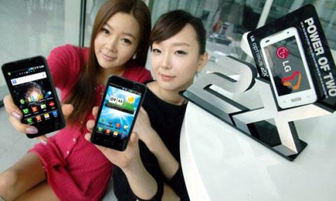 LG đi chậm hơn so với các đối thủ trên thị trường smartphone.