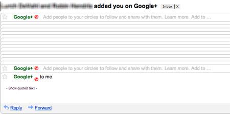 Google spam người dùng bằng chuỗi e-mail bất tận với nội dung giống nhau.