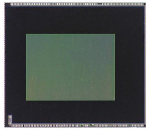 Cảm biến ảnh của Toshiba chỉ nhỏ 1/4 inch. Ảnh: Trustedreviews.