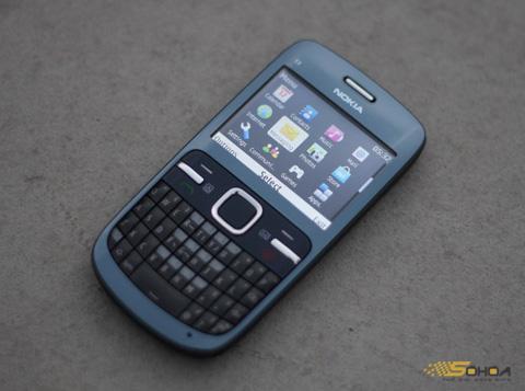 C3 của Nokia tạo dấu ấn ở phân khúc giá thấp. Ảnh: Quốc Huy.