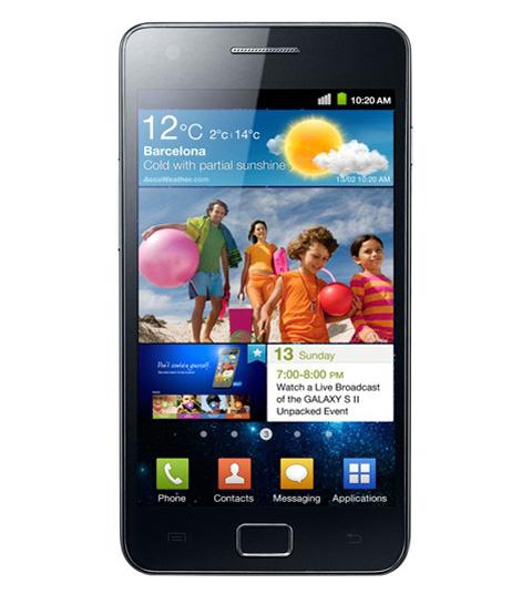 Galaxy S II là điện thoại tốt nhất thế giới hiện nay.