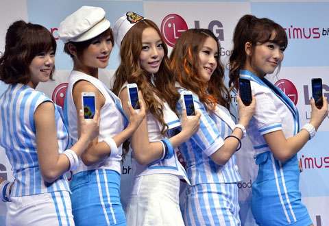 LG đang trên đà hội phục, đặc biệt mảng điện thoại thông minh. Ảnh: Daylife.