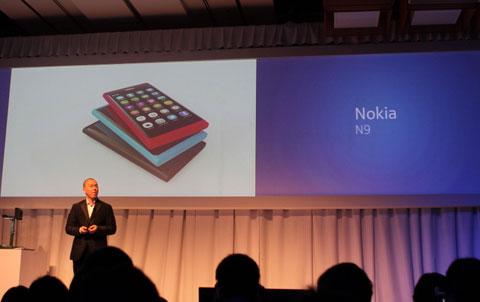 Đây là chiếc smartphone cao cấp của Nokia được chú ý nhất hiện tại. Ảnh: Quốc Huy.