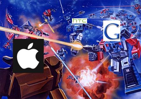 Apple kiện Samsung và HTC nhằm ngăn chặn sự bùng nổ của Android.