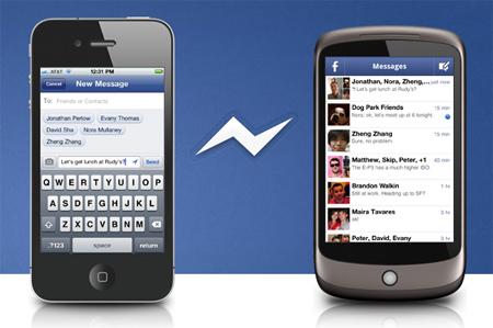 Người dùng iPhone và Android có thể gửi tin nhắn miễn phí cho nhau qua Facebook Messenger.