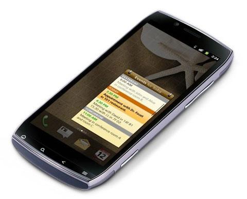 Iconia Smart có màn hình dài.